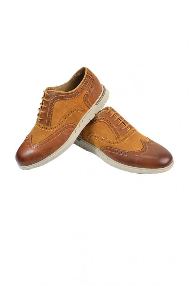 Azor Bergamo Casual Brogue Shoes