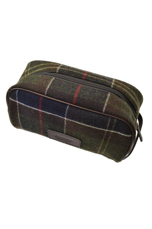 Barbour Tartan Wash Bag Tartan - Accessories from Michael Stewart ... 2e87036b6a03a
