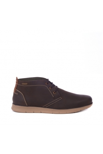 Barbour Collier Boot Dark Brown