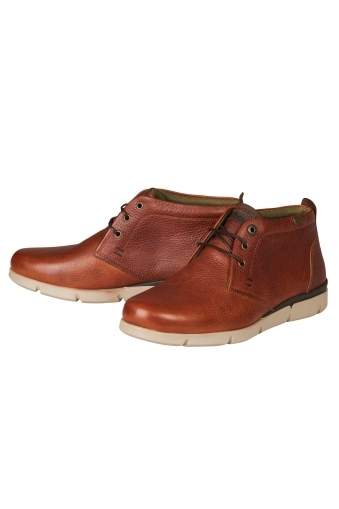 Barbour Collier Boots Cognac
