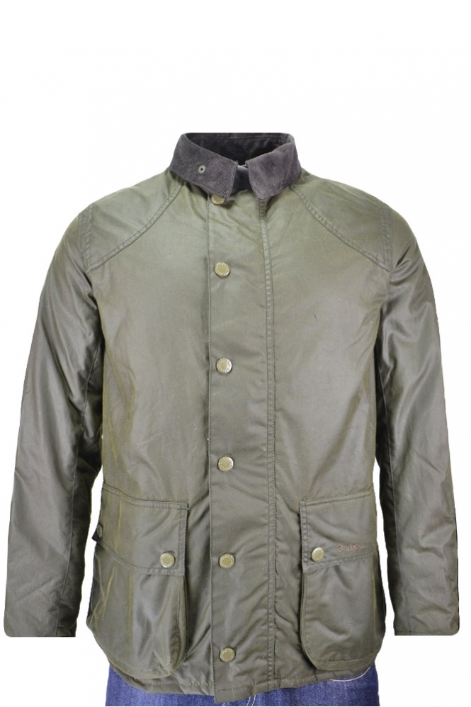 Barbour Digby Wax Jacket Olive
