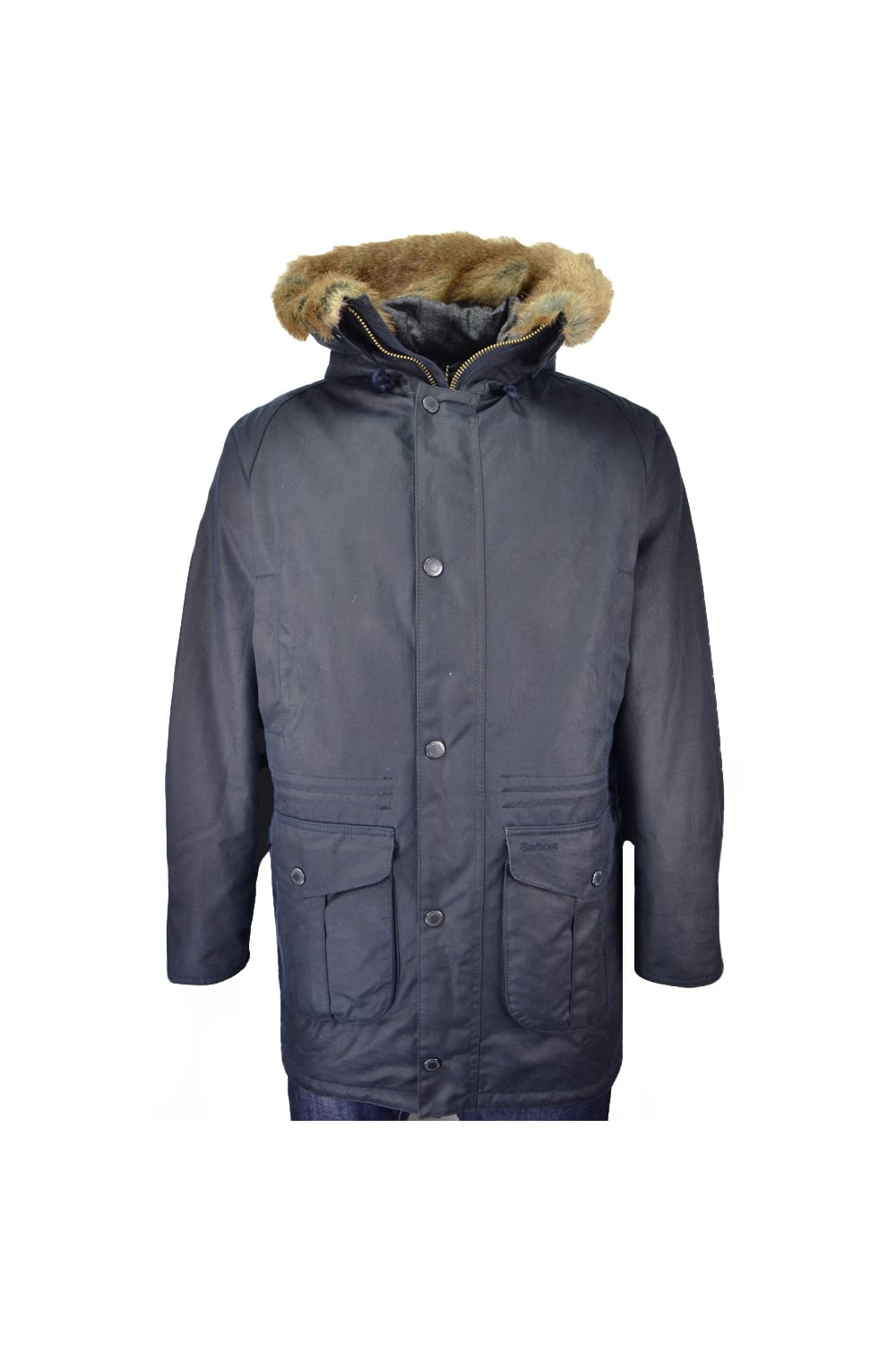 19b79a50319d Barbour Gisburne Waxed Hooded Parka Jacket - Clothing from Michael ...