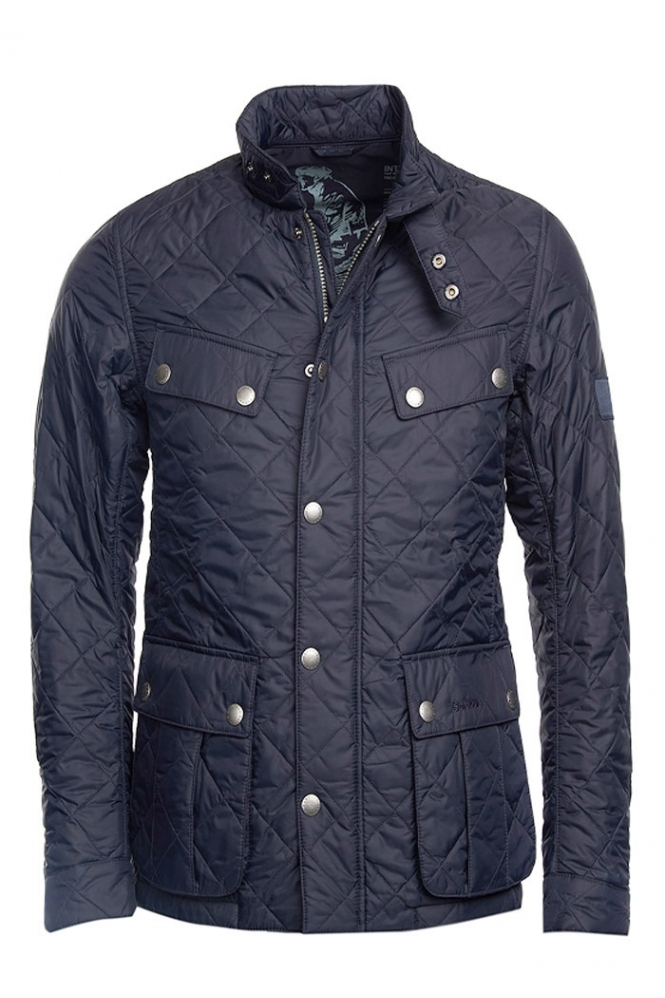 Barbour International Barbour Ariel International Quilted Jacket Navy