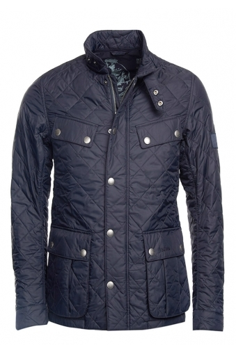 Barbour Ariel International Quilted Jacket Navy