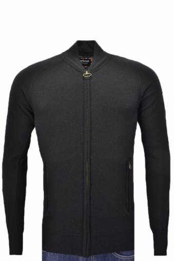 Barbour International Conquest Full Zip Black