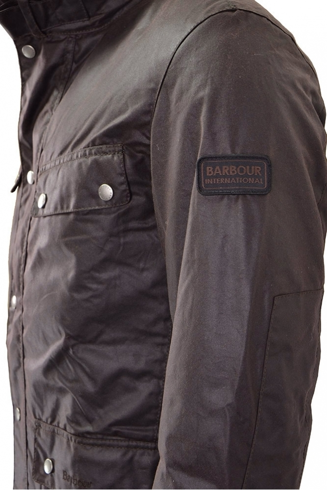 beautiful style up-to-datestyling 50% off Barbour Wax Duke Jacket Rustic