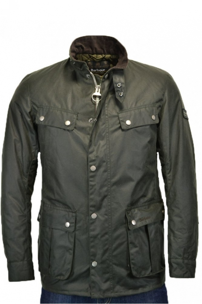 c8e1674d83af8 Barbour Duke Jacket Sage MWX0337SG91