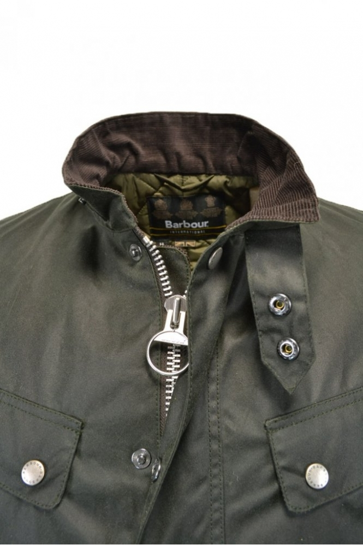 df319f643a Barbour Duke Jacket Sage MWX0337SG91