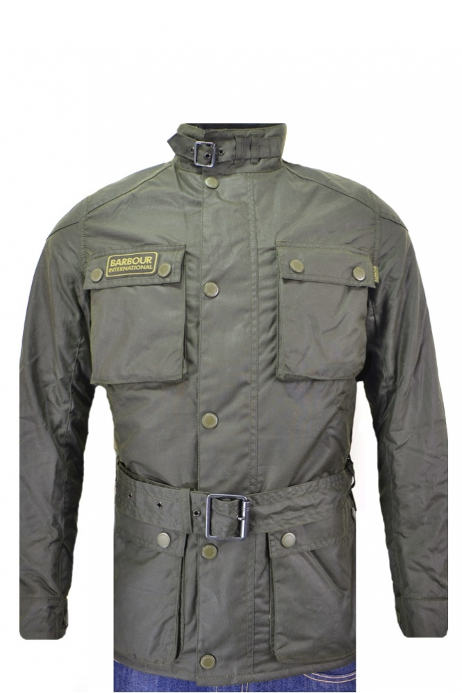 Barbour International Blackwell Wax Jacket