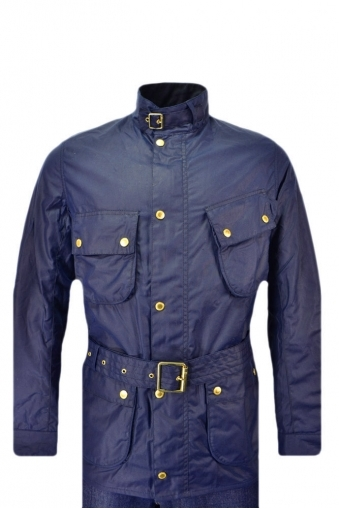 Barbour International Gauging Wax Jacket