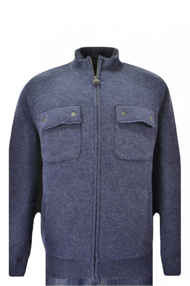 Barbour International Lateral Full Zip Knitwear