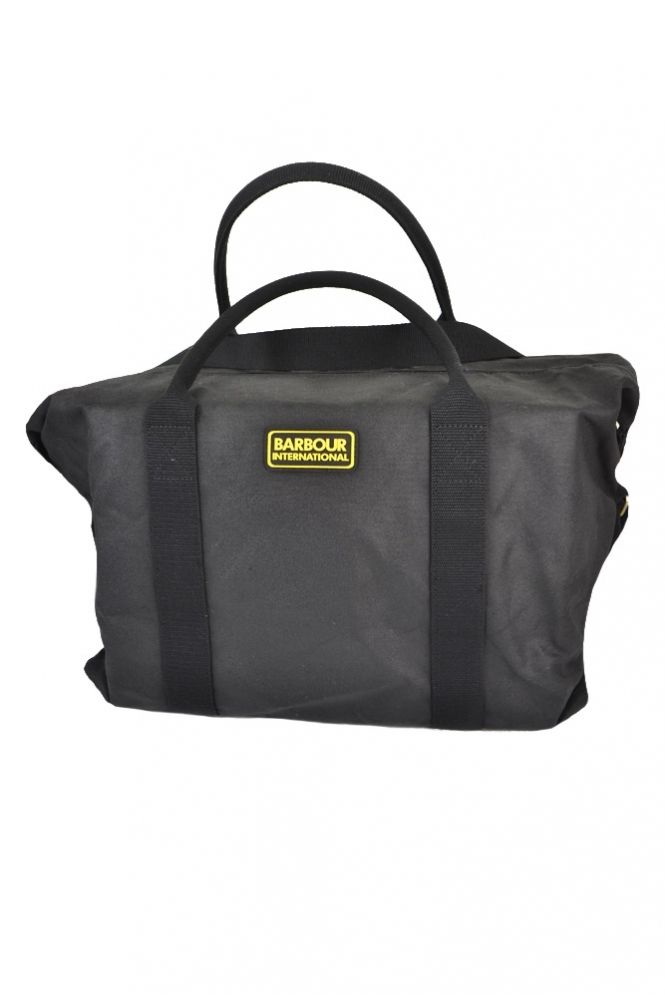 Barbour International Tyne Holdall Bag Black
