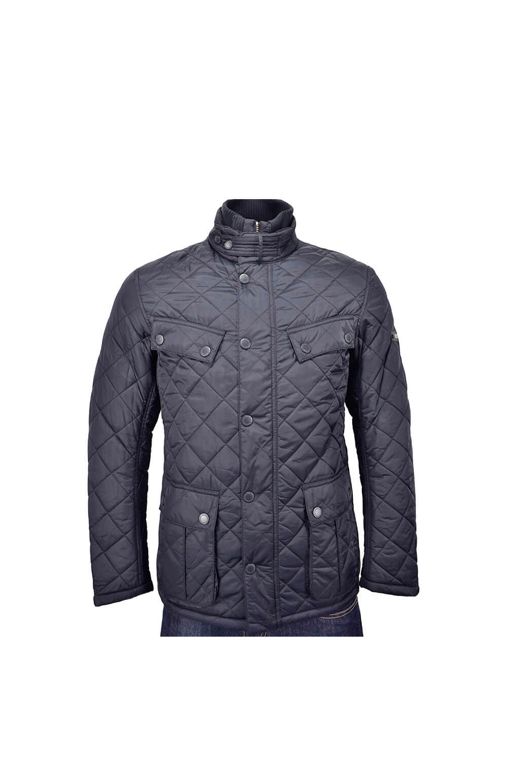 Barbour International Windshield Quilted Jacket Navy