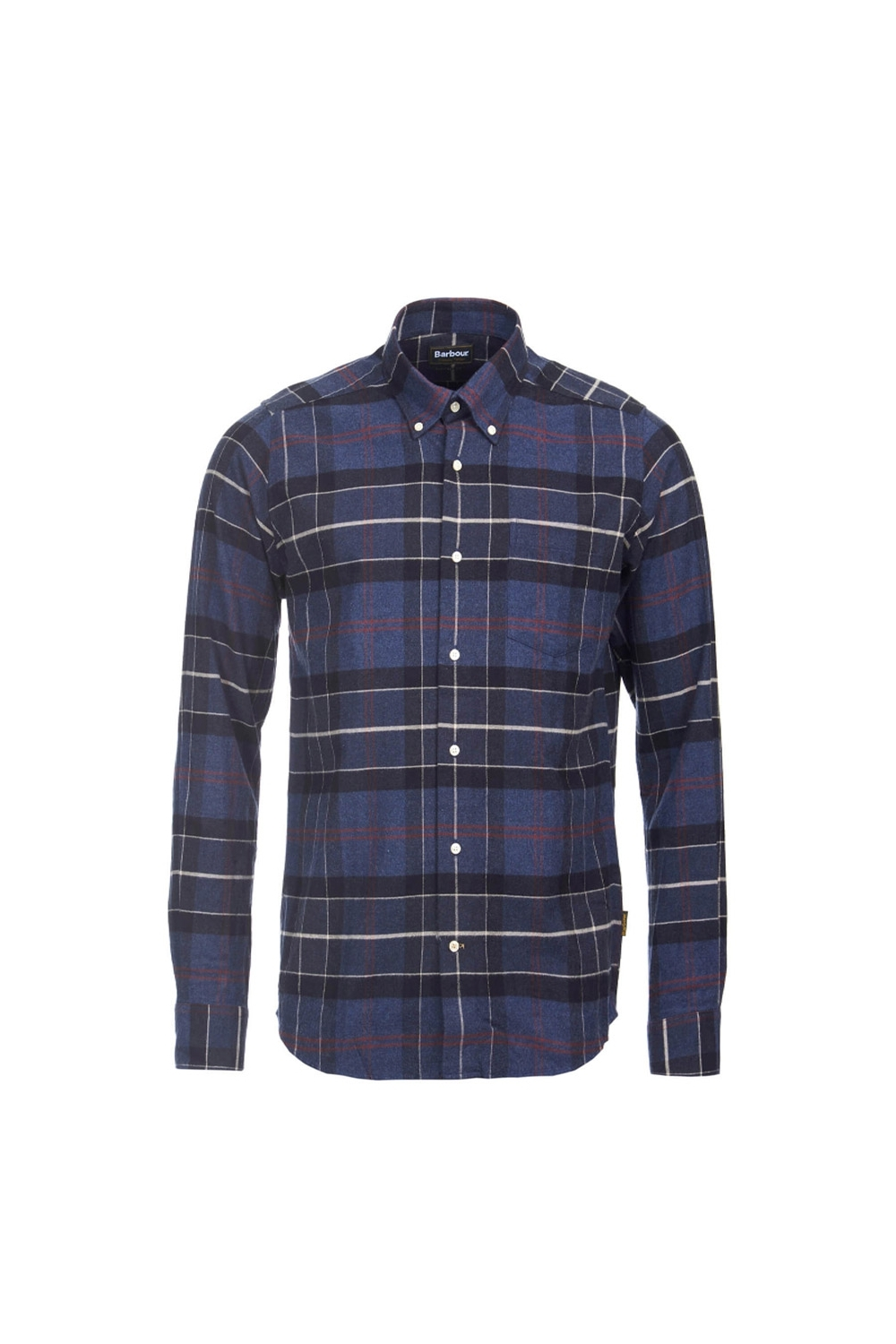 3a91af29e5f10 Barbour Barbour Lustleigh Long Sleeve Tailored Fit Shirt Navy Multi Check
