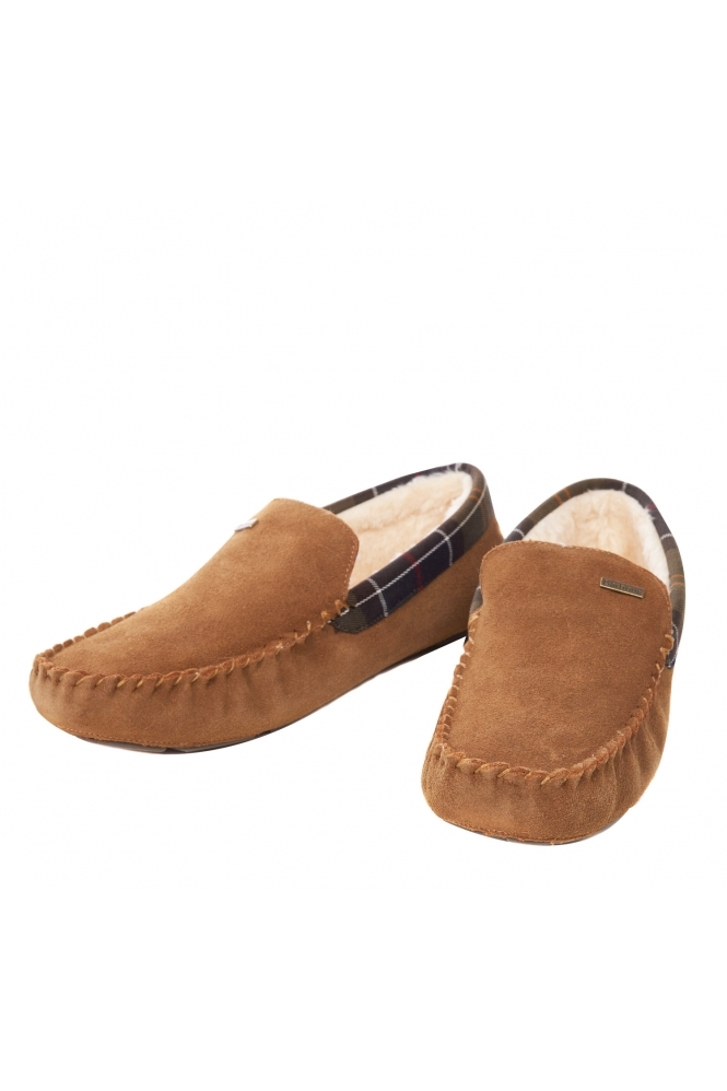 Barbour Monty Suede Slippers