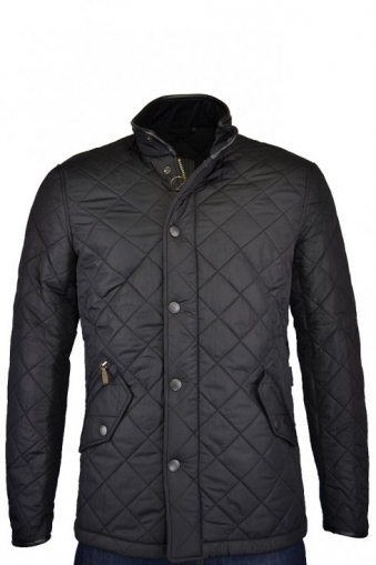 Barbour Powell Quilted Jacket Black