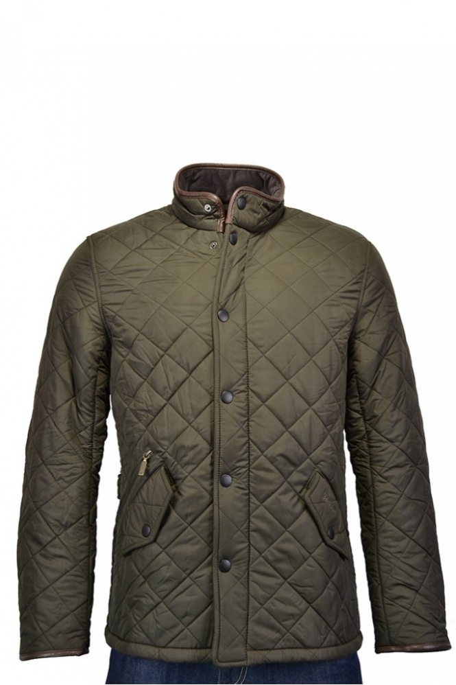 03fdd2c4ff5c Barbour Powell Quilted Jacket Olive MQU0281GN72