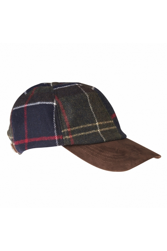 Barbour R Dotterel Baseball Sports Cap Tartan
