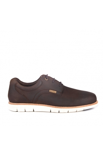 Barbour Rae Lace Up Shoes Brown