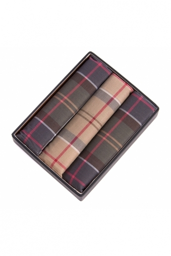 Barbour Tartan Pocket Square