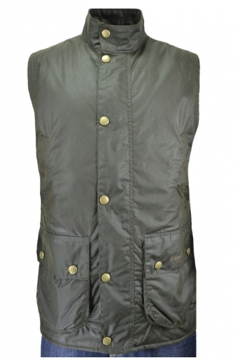 Barbour Westmorland Wax Gilet Olive