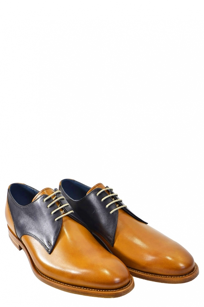 Barker Alvis Lace Up Shoes Cedar/Navy
