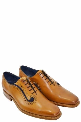 Barker Lucas Lace Up Shoe Tan
