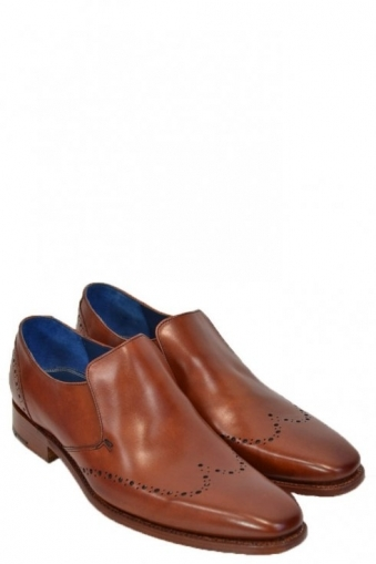 Barker Bourne Shoes Rosewood Calf