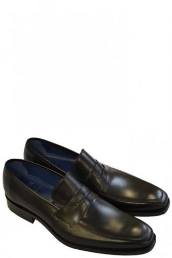 Leonardo Slip On Shoe Black