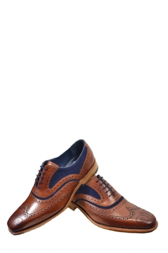 Barker Mcclean Calf Snuff Suede Shoes