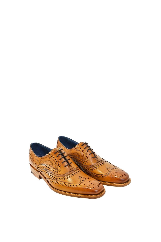 aa7b4c4c Barker McClean Paisley Laser Design Shoes
