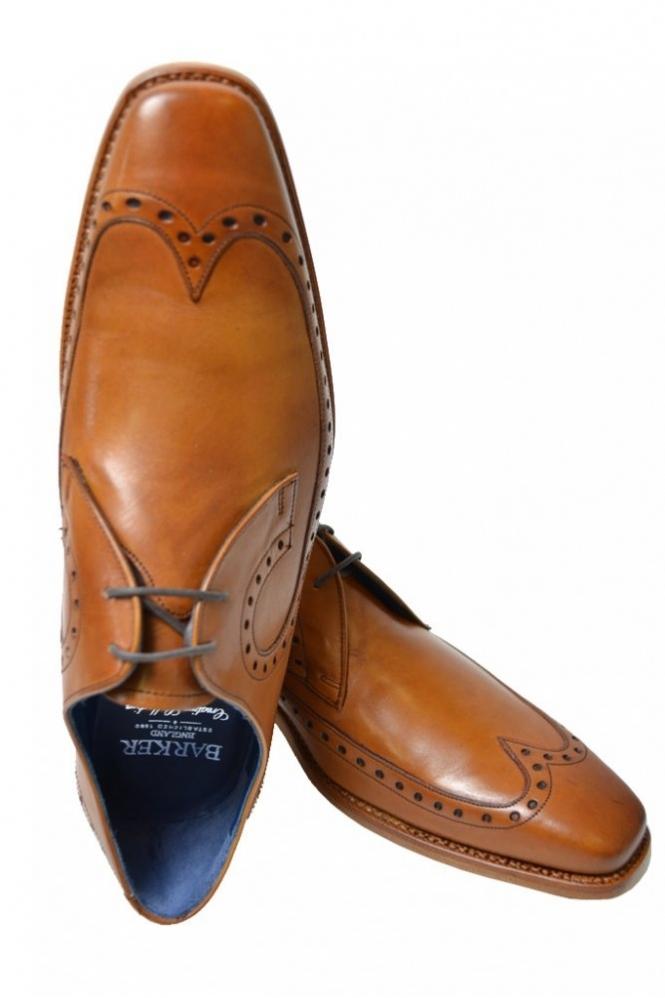 22cb97d1 Barker Woody Shoe Tan - Footwear from Michael Stewart Menswear UK
