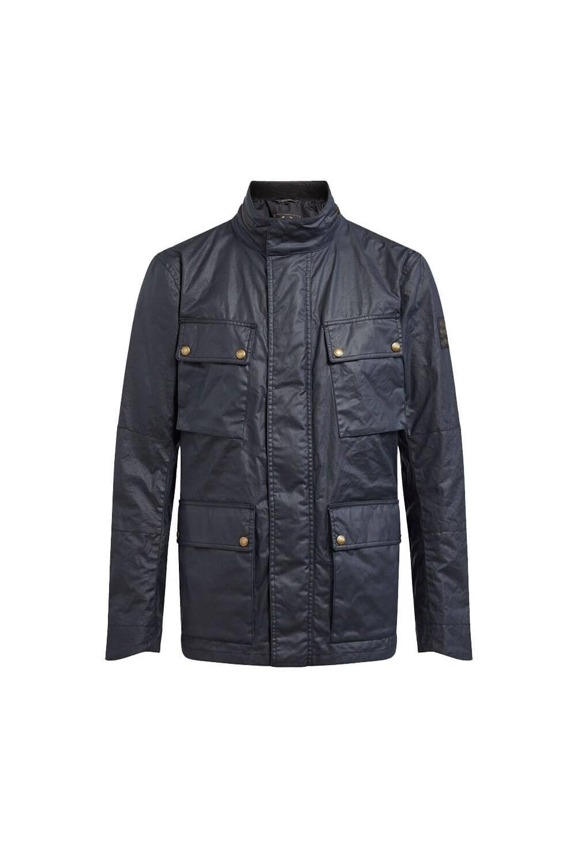 b70185601d Belstaff Explorer Jacket Dark Navy - Clothing from Michael Stewart ...