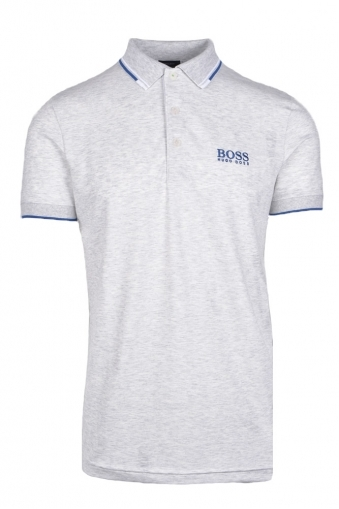 cd4bf8cf7 Boss Paddy Pro Regular Fit Polo Shirt Grey Melange