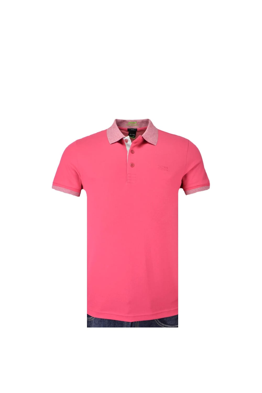 Pink Slim Fit Polo Shirt