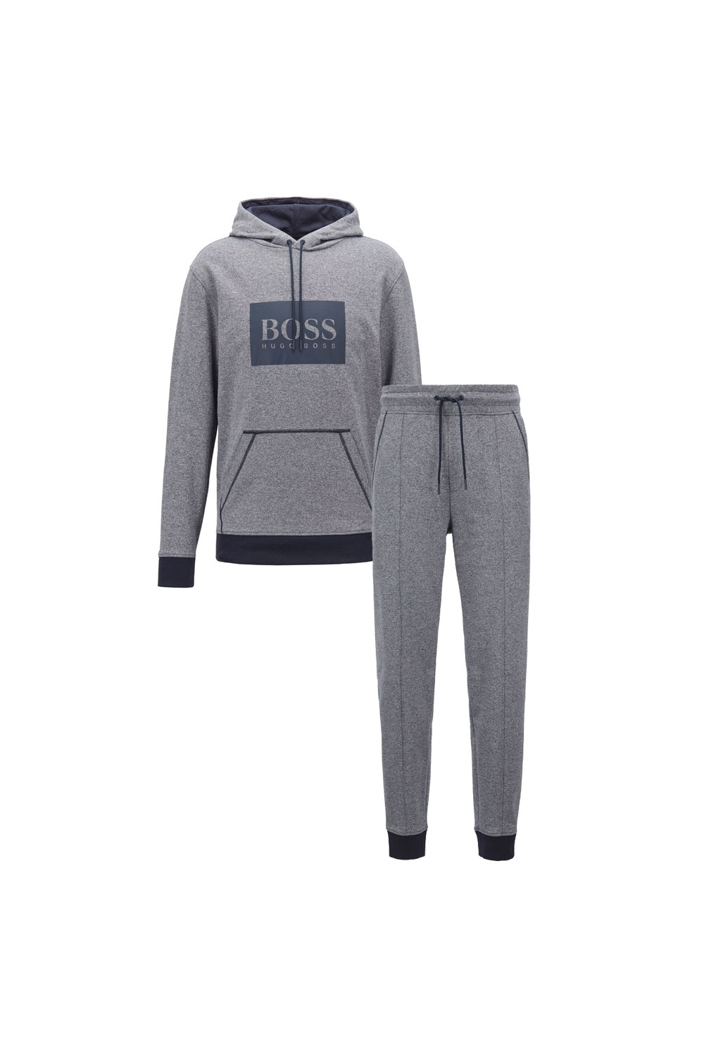 274d92e2 Hugo Boss Black Heritage Tracksuit In Grey | Michael Stewart Menswear