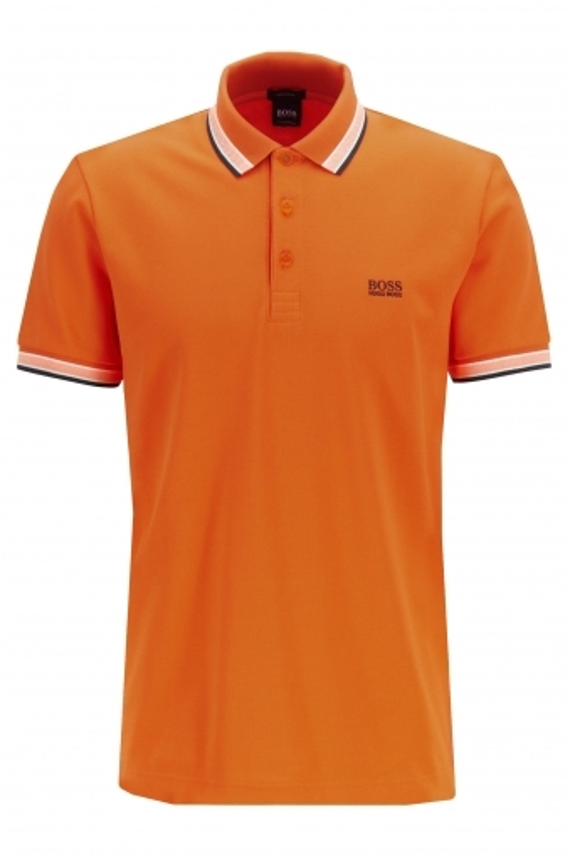 9a0d25dbd Boss Athleisure Paddy Polo Shirt Open Orange