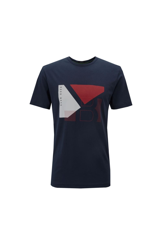 99c724ce Boss Athleisure Graphic T-Shirt Navy 50404402 | Michael Stewart Mens