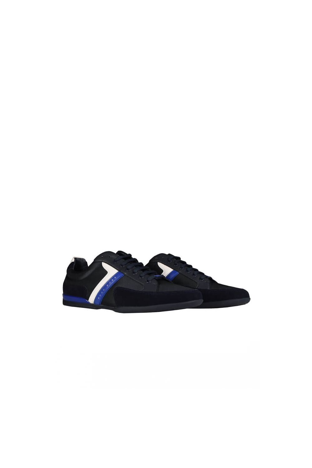 best original hot-selling latest Hugo Boss Spacit Trainers Navy Blue