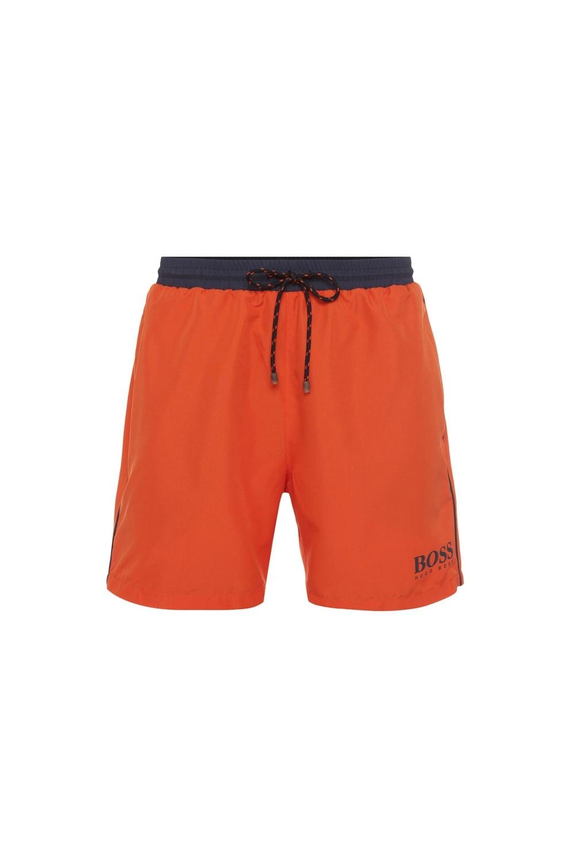 00c67cb1d0 Hugo Boss Black Starfish Swim Shorts in Bright Orange 50408104