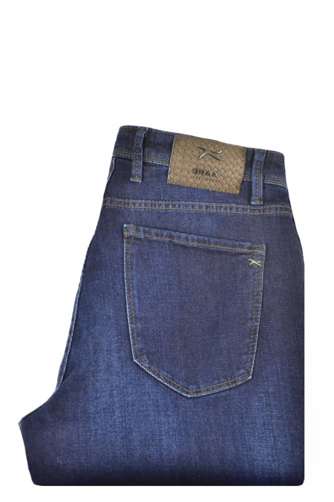 Brax Chuck Slim Fit Jeans Dark Blue Denim