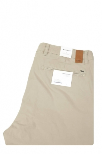 Brax Everest Regular Fit Chinos Beige