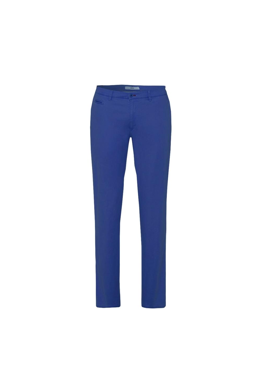 free delivery elegant shoes vast selection Brax Fabio-in Cotton Hi-flex Trouser Blue Size: 34W32L