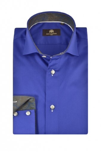 Circle Of Gentlemen Mavey Long Sleeve Shirt Electric Blue