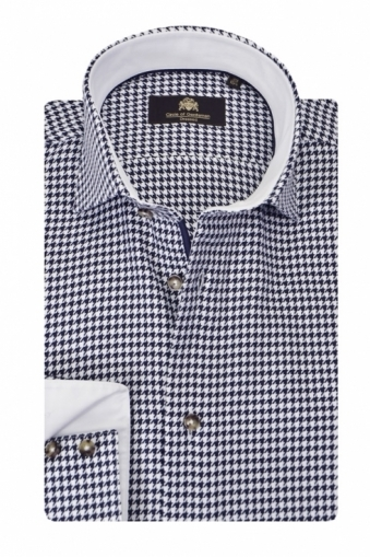 Circle Of Gentlemen Wickham Shirt Hounds Tooth