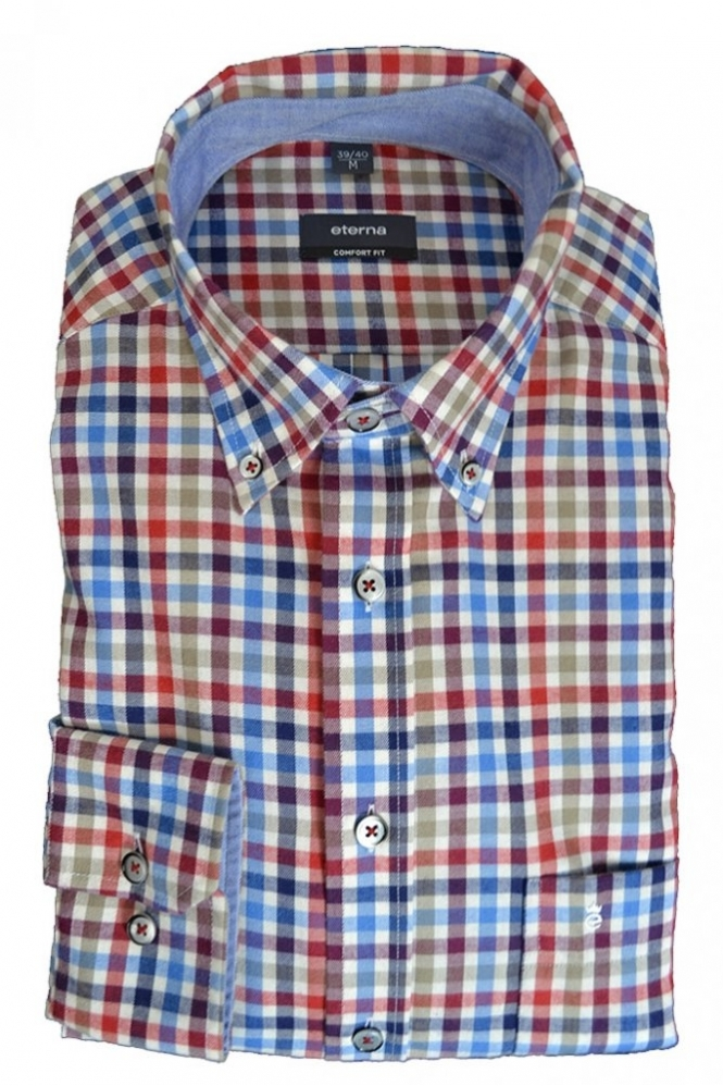 Eterna Casual Eterna Button Down Shirt