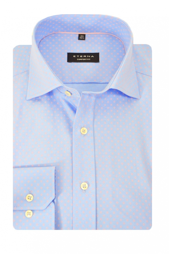 Eterna Casual Eterna Long Sleeve Shirt