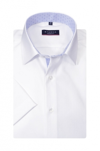 Eterna Modern Fit Short Sleeve Shirt