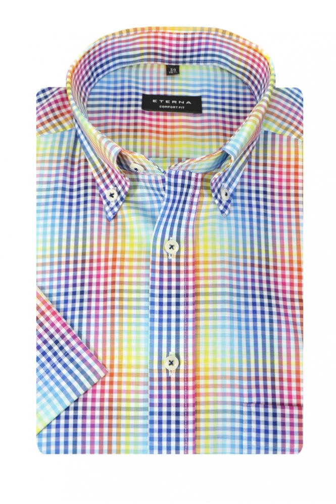 Eterna Casual Eterna Short Sleeve Shirt