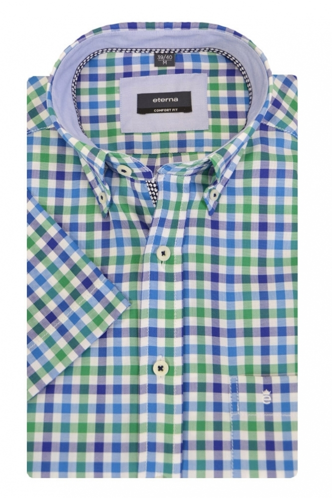 Eterna Casual Eterna Short Sleeved Shirt